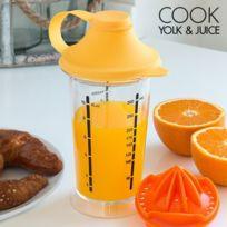 Marque Generique - Verre presse-agrumes et mélangeur - Jus d orange et fruits