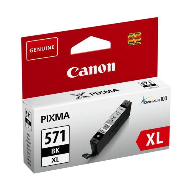 CANON CLI-571XL BK - Cartouche d'encre Noir