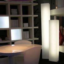Slide - Brick - Lampadaire Colonne Blanc H140cm