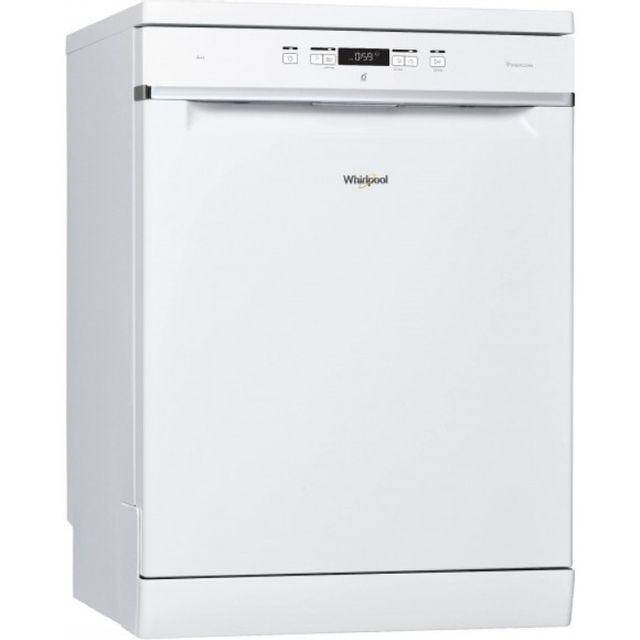Whirlpool lave-vaisselle 60cm 14c 42db a++ blanc - wfc3c22p