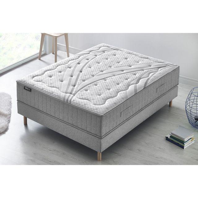 bobochic matelas boh me chic m moire de forme gel m moire de forme latex 30 cm ferme. Black Bedroom Furniture Sets. Home Design Ideas