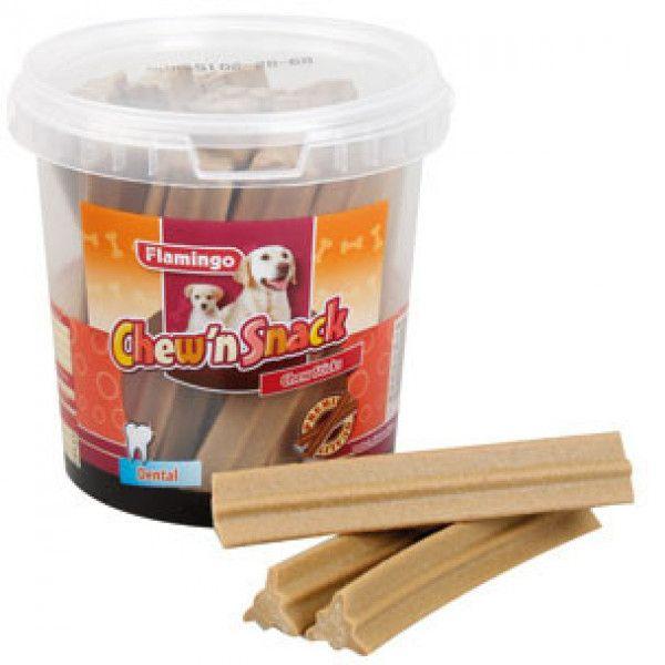 Flamingo Chew N Snack Sticks Dental 700 g