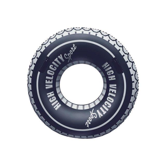 BESTWAY - Bouée gonflable baignade Velocity tire tube 119cm Noir 97224
