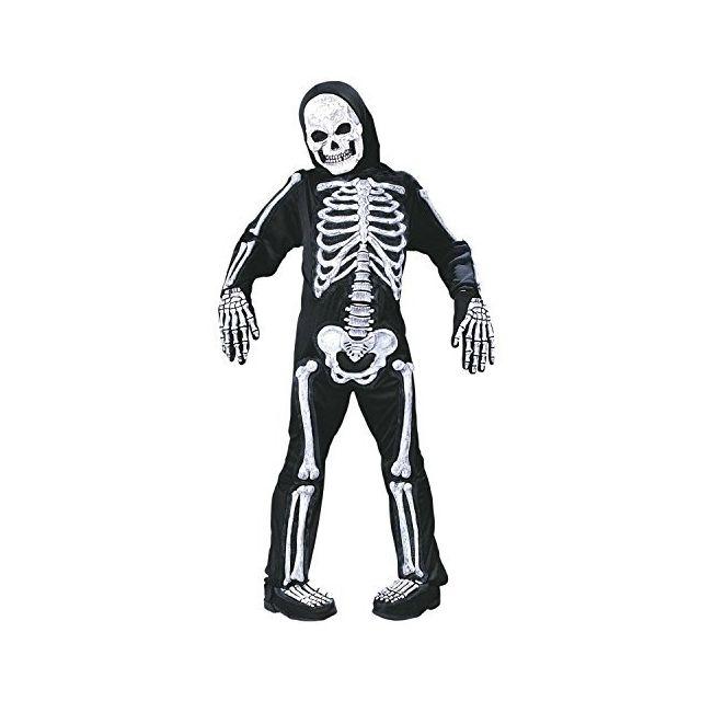 Fun World Spooky Skeleton Child Halloween Costume Large 12-14