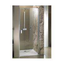Riho - Porte de douche gauche universelle Nautic N101 70x200 cm en verre clair