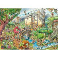 University Games - Heye HeyePuzzle Classique Fairy Tales Prades 1500 Pièces