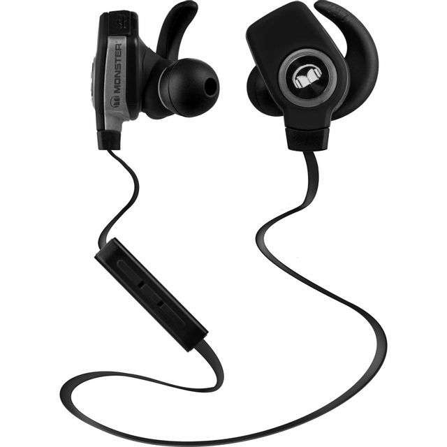 monster casque intra auriculaire sans fil isport bluetooth superslim noir 137035 00 pas cher. Black Bedroom Furniture Sets. Home Design Ideas