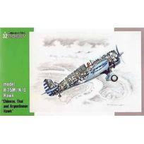 Special Hobby - Sh32038 Curtis Hawk H-75M/N/O Chinese, Thai & Argentinian Hawk 1:32 Plastic Kit Maquette