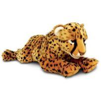 Aucune - Peluche guepard doux moyenne taille 58cm