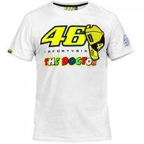 Vr 46 - T-shirt White Yellow Vr46
