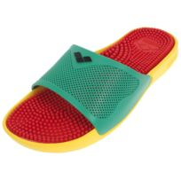 Arena - Claquettes mules Marco x grip red green Rouge 83612