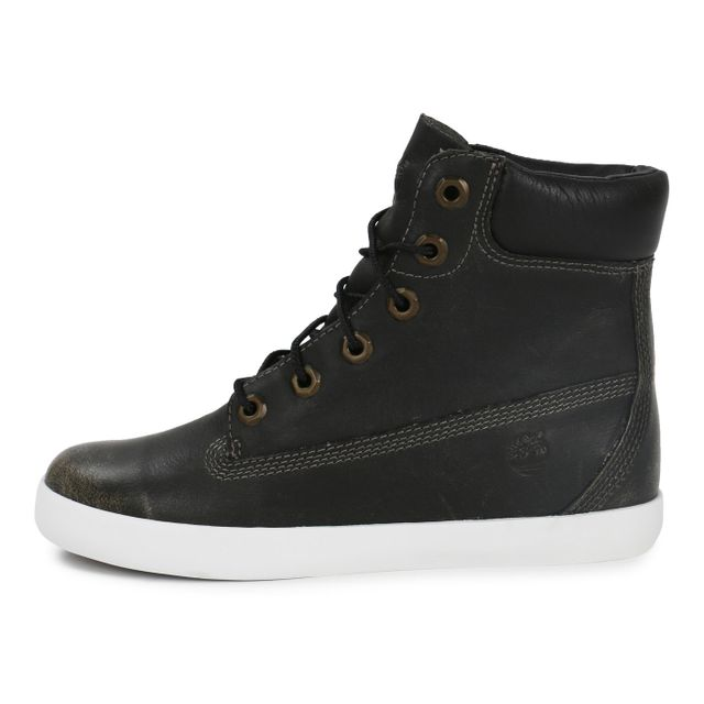 Timberland Earthkeepers Glastenbury Cuir Noir pas cher