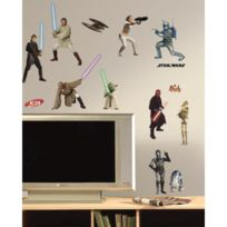 Room Mates - Stickers Star Wars Prequel Roommates Repositionnables 28 Stickers