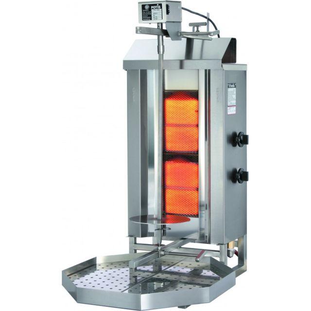 Materiel Chr Pro Döner Kebab Professionnel à Gaz 30 à 120 Kg - Stalgast - 30 kg