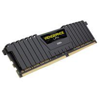 CORSAIR - Vengeance LPX Black 16 Go 2 x 8 Go, DDR4 2400 MHz Cas 14