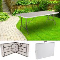 ProBache - Maxi table pliante d'appoint portable camping réception 240 cm