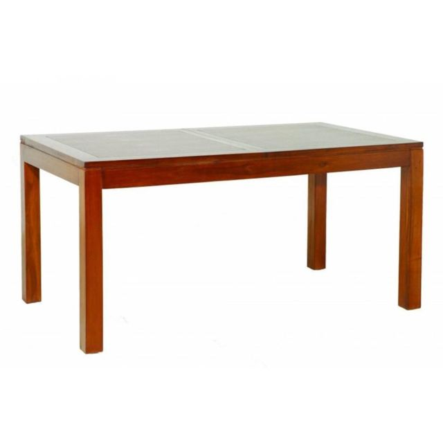 Inside 75 Table repas Lauren 160/200 x 90 cm en mindi