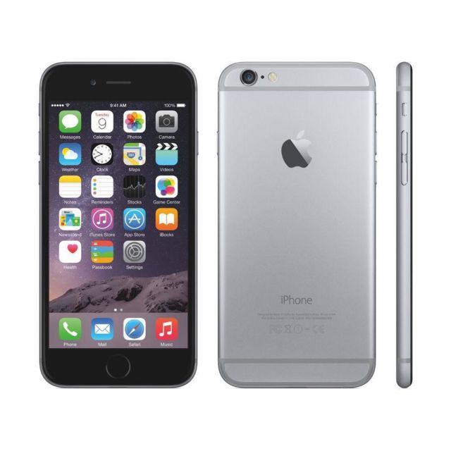 destockage apple iphone 6 128 go gris sid ral reconditionn pas cher achat vente. Black Bedroom Furniture Sets. Home Design Ideas