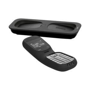 telefunken colombo td101 noir t l phone sans fil dect afficheur alphanum rique noir pas. Black Bedroom Furniture Sets. Home Design Ideas