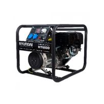 Hyundai - Groupe électrogène de chantier 6500W - Hy9000