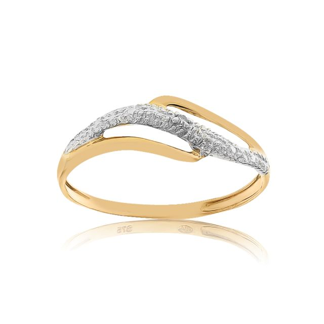 100% authentique 6a73a 4ce05 Bague Or 375/1000 Diamants
