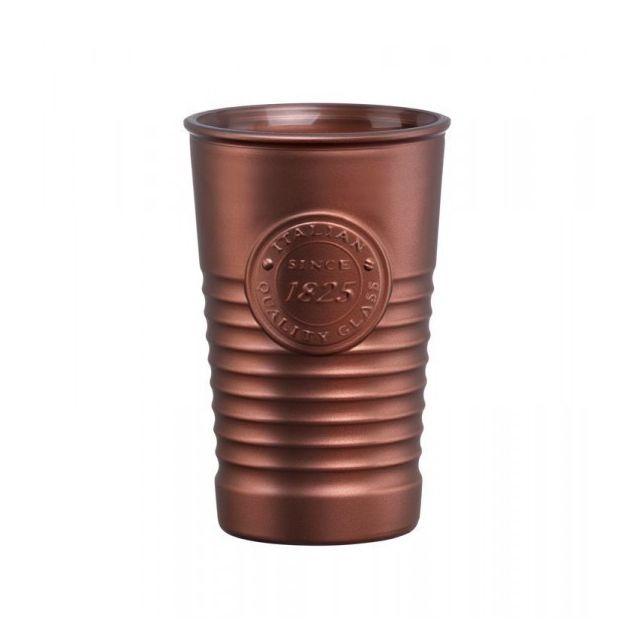 Bormioli Rocco Lot de 6 Verres à eau 30 cL Officina 1825 Couleur - Marron