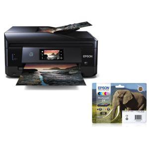 epson pack imprimante xp 860 cartouche d 39 encre 6 couleurs pas cher achat vente. Black Bedroom Furniture Sets. Home Design Ideas