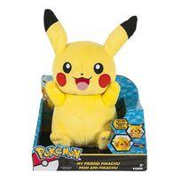 Tomy - Pokemon - Peluche parlante Pikachu