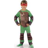 Tortue Ninja - Boite Vitrine - Déguisement Enfant - Taille : 3/5 ans 94 à 108 cm