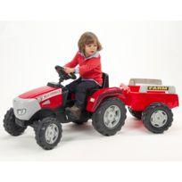 Falk - Tracteur Cormick Xtx 165 + Remorque 3/7 ans - 984B