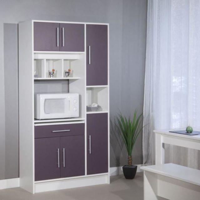 buffet micro ondes 6 portes 1 tiroir pas cher achat. Black Bedroom Furniture Sets. Home Design Ideas