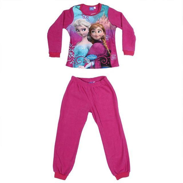 3c8b85a0907b1 La Reine Des Neiges - Pyjama Polaire - pas cher Achat   Vente Pyjamas -  RueDuCommerce