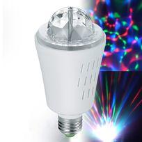 Inolights - Ampoule à effets lumineux 3 Led Rvb E27 3W Centaurus