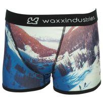 Waxx - Sous vêtement boxer Valley boxer homme Bleu 75064