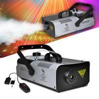 Flash - Machine à fumée capacité 2L + télécommandes + étrier de fixation