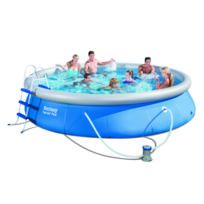 Design et Prix - Magnifique Kit piscine autoportante Best Way Fast Set Pool 457 x 91cm