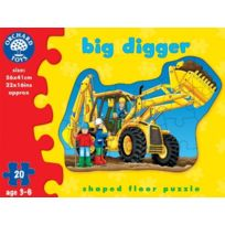 "Orchard Toys - Puzzle - Grand Excavateur ""BIG Digger Puzzle"