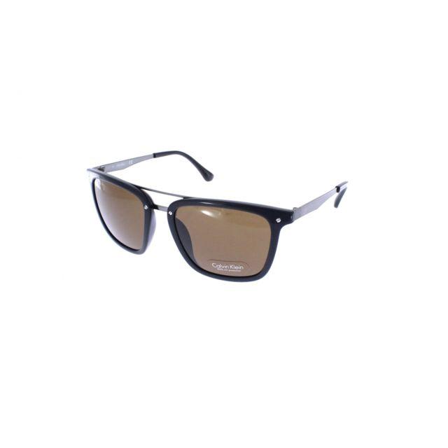 9b7ad1c92df383 Calvin Klein - Ck 1214S 001 - Lunettes de soleil homme - pas cher Achat   Vente  Lunettes Aviateur - RueDuCommerce