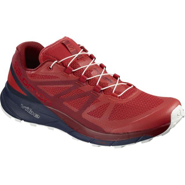 cc56dbd4cb15 Salomon - Salomon Sense Ride Rouge High Risk Chaussures de trail salomon