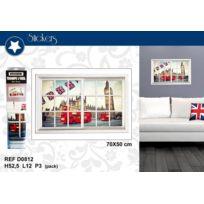 London Design - Sticker Trompe L'OEIL Londres Big Ben