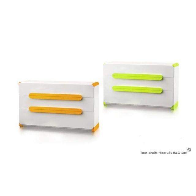 House And Garden Commode Ado 3 Tiroirs Design Milo Pas Cher