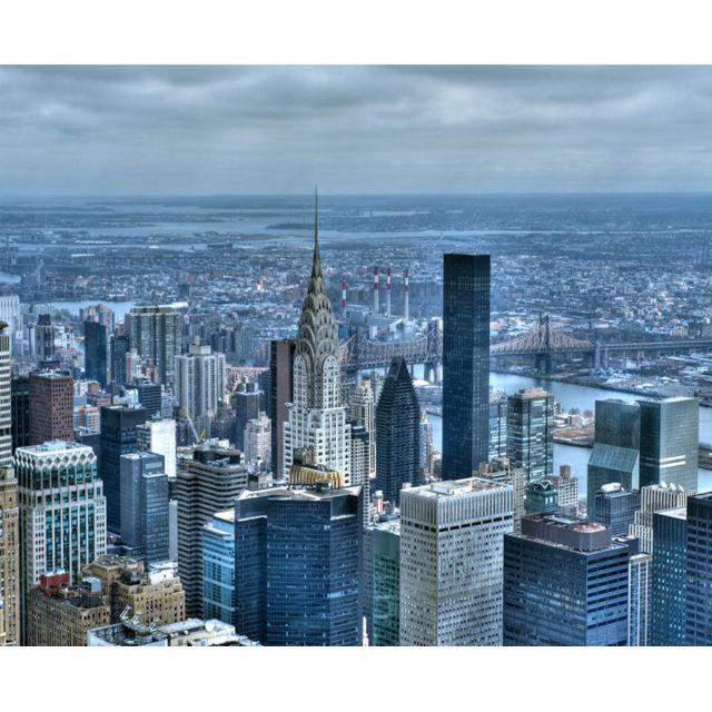 Bebe Gavroche Papier Peint New York Chrysler Building 360x270 cm