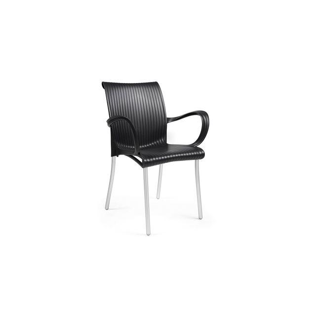 nardi fauteuil avec accoudoir design jardin terrasse dama - Fauteuil Terrasse