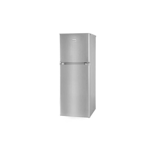 OCEANIC Oceaf2d134s-refrigerateur-134l 95l + 39l-2 Portes-congelateur Haut-froid Statique-a+-l 48 X H 126,5 Cm-silver