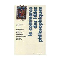 Editions Du Croquant - Le commerce des idées philosophiques