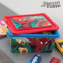 Marque Generique - Boîte de rangement de jouets Spiderman 32 x 23 cm Coffre pour jouet