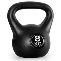 KLARFIT - Kettlebell Poids d'entrainement haltères rondes 8kg
