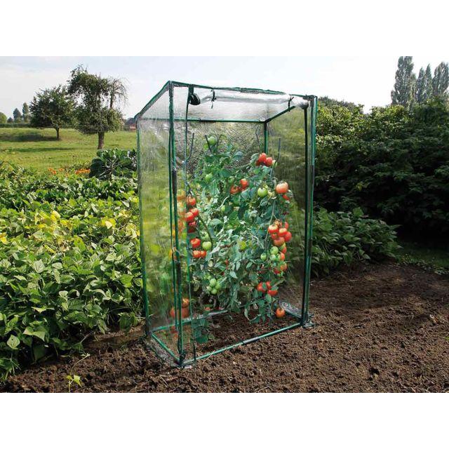 Nature serre tomates 100 cm pas cher achat vente serres en plastique rueducommerce - Serre de jardin carrefour ...