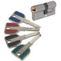 Vachette - Cylindre 2 entrées Varié Radial Nt+ Inox 32.5x32.5 mm