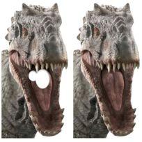 Figurine Tete Jurassic Passe En World Cm Gueule Indominus H 189 Rex Carton kn0wOP8